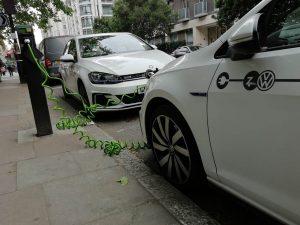 vehicles charging